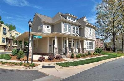 Charlotte Condo/Townhouse For Sale: 723 Herrin Avenue