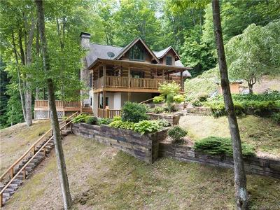 Waynesville Single Family Home For Sale: 96 Boyd Mountain Road