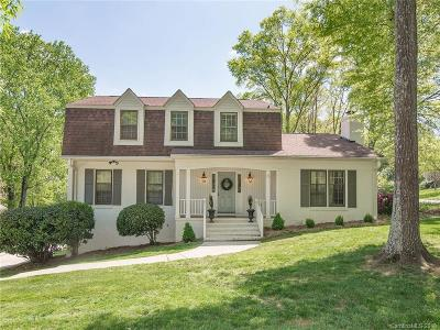 Charlotte Single Family Home For Sale: 3809 Bridgewood Lane