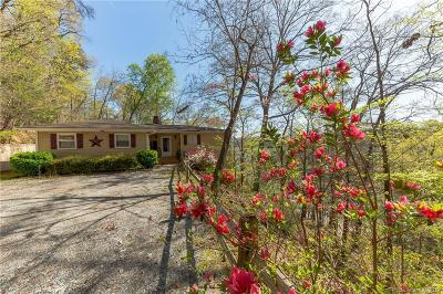 Lake Lure Single Family Home Under Contract-Show: 153 Snug Harbor Circle #118-120,