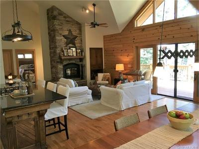 Bat Cave, Chimney Rock, Lake Lure, Gerton, Black Mountain, Mill Spring, Rutherfordton, Columbus, Tryon, Saluda, Union Mills, Hendersonville Single Family Home For Sale: 385 Burnside Trail #Lot 16 a