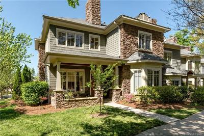 Charlotte NC Condo/Townhouse For Sale: $639,000