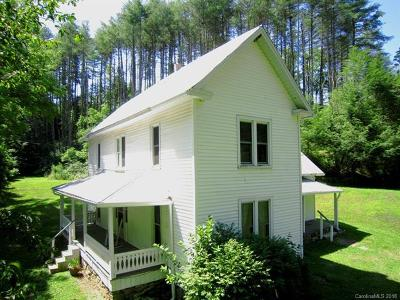 Weaverville Single Family Home For Sale: 72 Sams Road