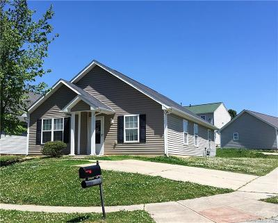 Charlotte NC Single Family Home For Sale: $117,500
