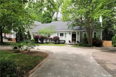Charlotte NC Single Family Home For Sale: $825,000