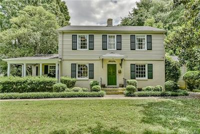 Charlotte Single Family Home For Sale: 1519 S Wendover Road