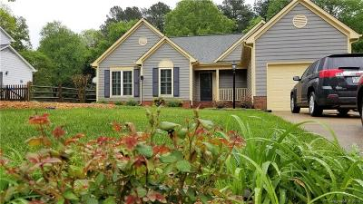 Charlotte NC Single Family Home For Sale: $194,900