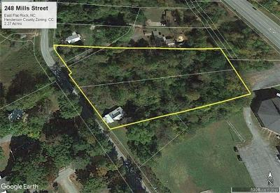Henderson County Residential Lots & Land For Sale: 248 Mills Street