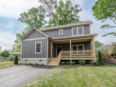 Asheville NC Single Family Home Under Contract-Show: $282,500