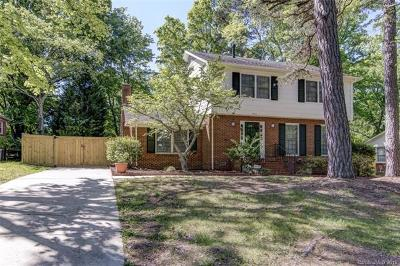 Charlotte Single Family Home For Sale: 2438 Knickerbocker Drive