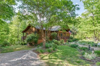 Rutherfordton Single Family Home Under Contract-Show: 493 Wilderness Ridge