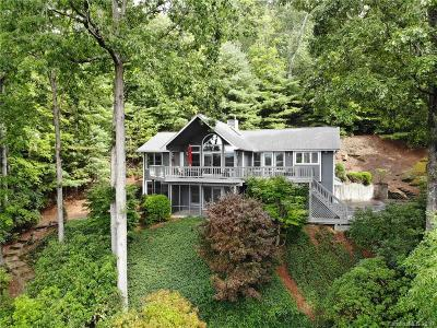 Chimney Rock, Lake Lure, Mill Spring, Bat Cave, Hendersonville, Saluda, Gerton, Black Mountain, Columbus, Tryon, Rutherfordton Single Family Home For Sale: 5531 Spring Road #18
