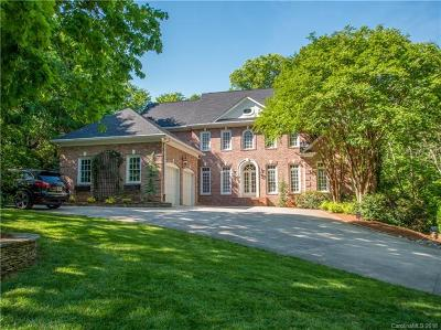 Quail Hollow, Quail Hollow Estates Single Family Home For Sale: 3819 Gleneagles Road