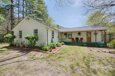 Waynesville Single Family Home For Sale: 179 Jonathan Creek Road