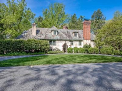 Asheville Single Family Home For Sale: 3 Fairway Place