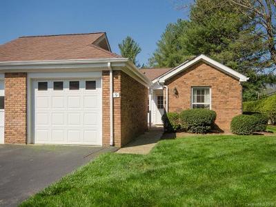 Waynesville Condo/Townhouse For Sale: 9 Bradford Circle