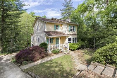 Asheville Single Family Home For Sale: 123 Forest Lake Drive