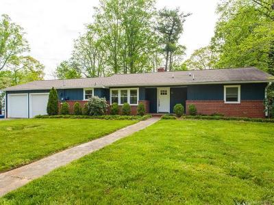 Asheville Single Family Home For Sale: 30 Crockett Avenue
