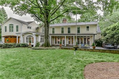 Charlotte, Davidson, Indian Trail, Matthews, Midland, Mint Hill, Indian Land, Catawba, Clover, Fort Mill, Lake Wylie, Rock Hill, Tega Cay, York Single Family Home For Sale: 3908 Foxcroft Road