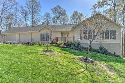 Candler Single Family Home For Sale: 18 Howling Waite Ridge