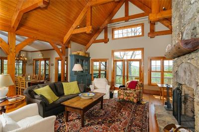 Lake Toxaway Single Family Home For Sale: 536 Hawk Mountain Road #41
