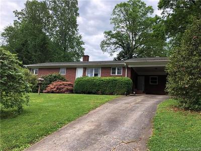 Rutherfordton Single Family Home For Sale: 177 Fernwood Drive