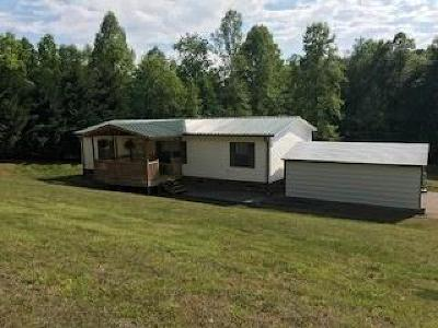 Alexander County, Caldwell County, Ashe County, Avery County, Watauga County, Burke County Single Family Home Under Contract-Show: 5092 Mount Olive Church Road