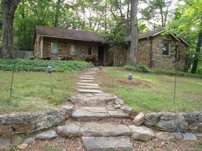 Bat Cave, Black Mountain, Chimney Rock, Columbus, Gerton, Lake Lure, Mill Spring, Rutherfordton, Saluda, Tryon, Union Mills Single Family Home For Sale: 146 Hidden Hill Road