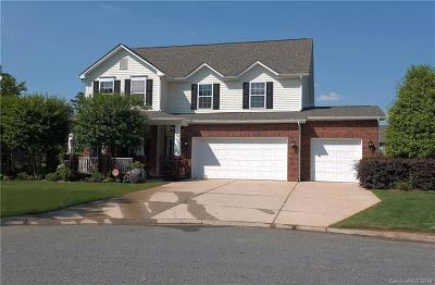 Indian Trail Single Family Home For Sale: 9003 Fine Robe Drive