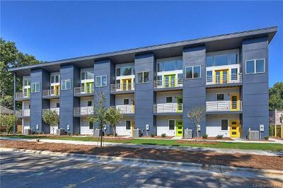 Charlotte Condo/Townhouse For Sale: 1709 Umstead Street