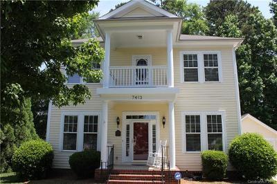 Huntersville Single Family Home For Sale: 7413 Gilderstern Glen Court
