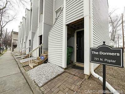 Condo/Townhouse For Sale: 721 N Poplar Street #13