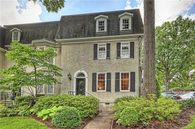 Charlotte Condo/Townhouse Under Contract-Show: 142 Perrin Place