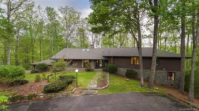 Brevard Single Family Home For Sale: 32 Pheasant Run