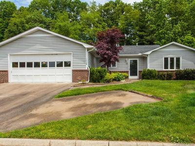 Hendersonville Single Family Home Under Contract-Show: 168 Derbyshire Drive