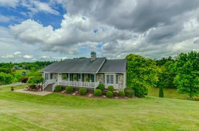 Weaverville Single Family Home Under Contract-Show: 1 & 3 Pinebluff Court