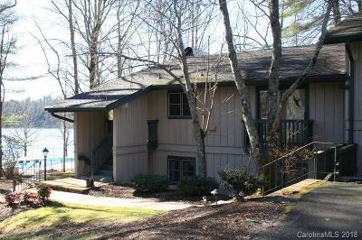 Lake Toxaway Condo/Townhouse For Sale: 84 Toxaway Point #D-2