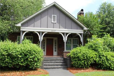 Charlotte Single Family Home For Sale: 1417 Kenilworth Avenue