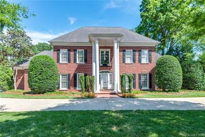 Charlotte Single Family Home For Sale: 2125 S Wendover Road