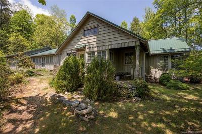 Transylvania County Single Family Home Under Contract-Show: 373 Joshua Road