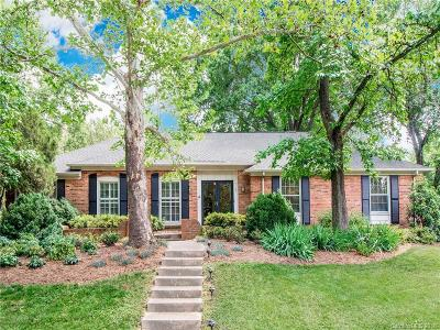 Charlotte Single Family Home For Sale: 7101 Rhygate Circle