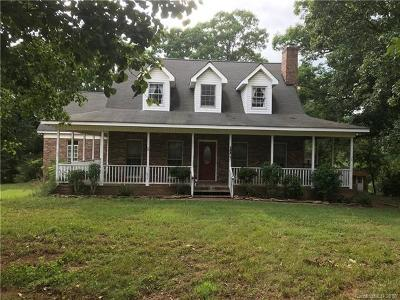 Marshville Single Family Home For Sale: 4323 Lucy Short Cut Road