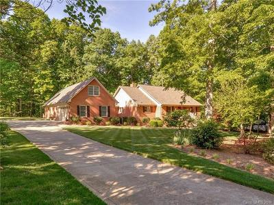 Indian Trail Single Family Home For Sale: 4816 Pioneer Lane