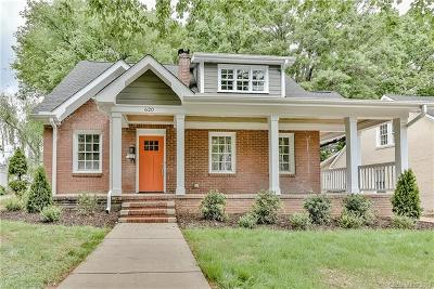 Charlotte Single Family Home For Sale: 620 Woodruff Place