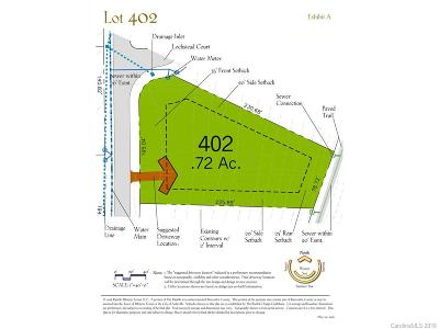 Asheville Residential Lots & Land For Sale: 119 Lochstead Court #402