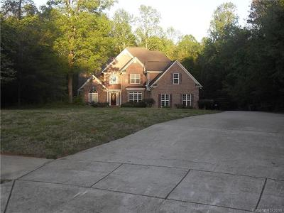 Mint Hill Single Family Home For Sale: 11540 Lemmond Acres Drive