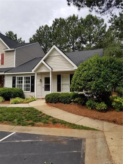 Charlotte Condo/Townhouse For Sale: 9957 Birch Knoll Court