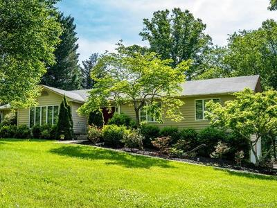 Weaverville Single Family Home Under Contract-Show: 45 Applecross Road