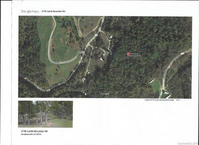 Hendersonville Residential Lots & Land For Sale: 2196 Lamb Mountain Road