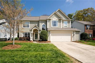 Charlotte Single Family Home For Sale: 6107 Downfield Wood Drive